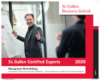 St. Gallen Certified Experts