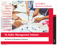 St. Galler Management Schulen